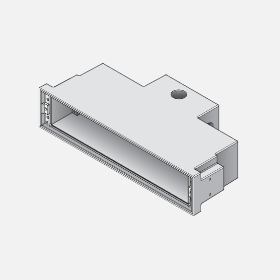 for use with recessed wall luminaires