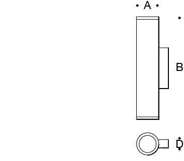 Narrow beam upward · Narrow beam downward