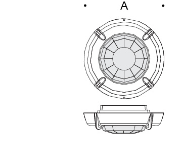 Integral motion sensor